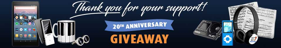 20th Anniversary Giveaway