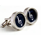 Personalized Music Cufflinks