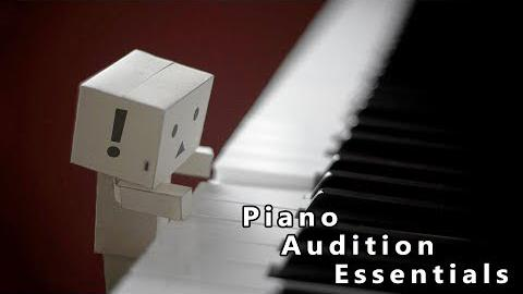 Piano Audition Requirements