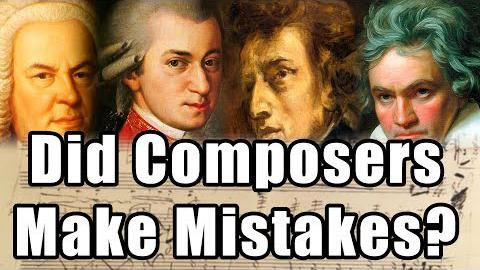 Did Classical Composers Make Mistakes?
