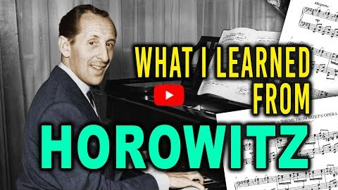 What I Learned From Horowitz