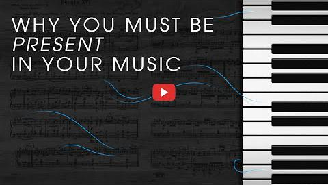 Why You Must be Present in Your Music