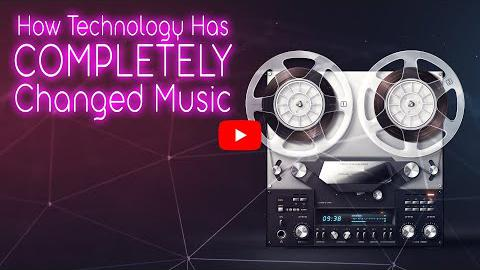 How Technology has Completely Changed Music