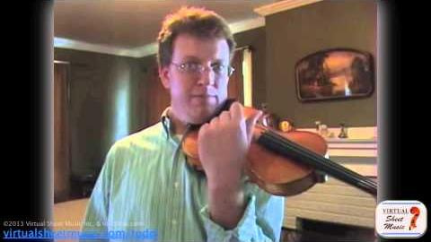 How to play the glissando on the violin