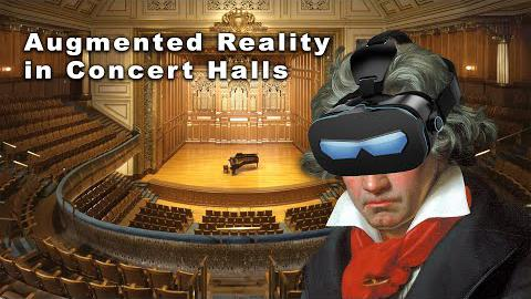 Augmented Reality in Concert Halls
