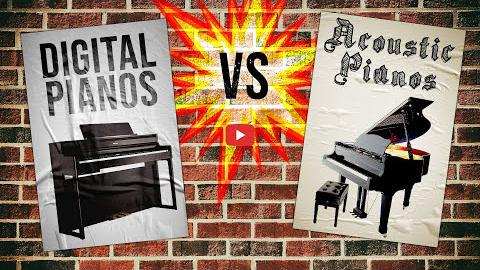 Are Digital Pianos Better Than Acoustic Pianos?
