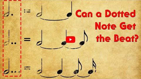 Can a Dotted Note Get the Beat?