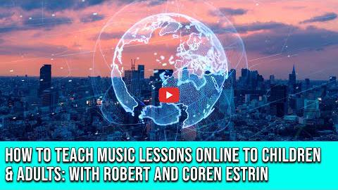 How to Teach Music Lessons Online to Children & Adults