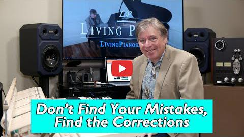 Don't Find Your Mistakes, Find the Corrections
