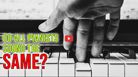 Do Pianists All Sound the Same?