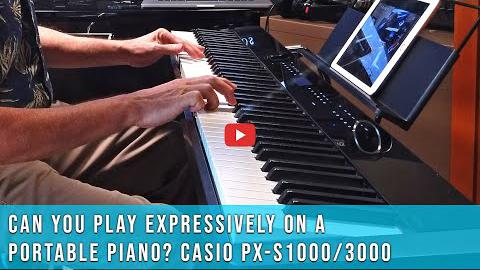 Can You Play Expressively on a Portable Piano?