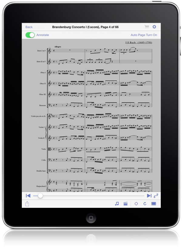 Sheet Music Display