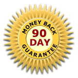 90-Day Money Back Guarantee!