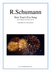 New Year's Eve Song by Robert Schumann