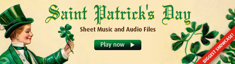 Saint Patrick's Day Sheet Music Collections